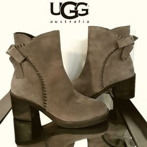 NWOB UGG Suede Ankle Boots
